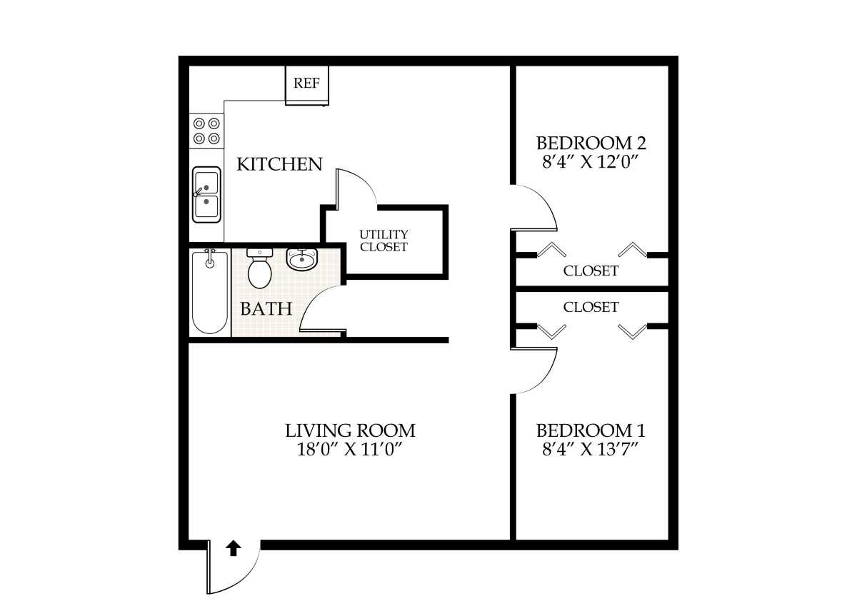 Penningroth apartments iowa city iowa for 2 bedroom 1 bath house